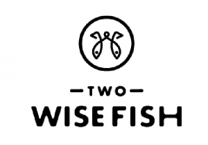two wise fish logo